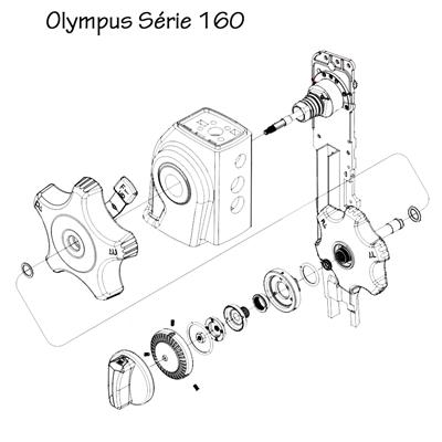 Manopla UD (Up/Down) Completa para Aparelhos Olympus da Série 145/160/180/190 - ORIGINAL