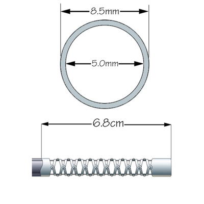 Seção da Ponta Flexível para Olympus GIF-Q150/Q-180 - COMPATÍVEL/PARALELA