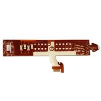 Circuito Flexível (Flat Cable) 'Fita' do Bloco Eletrônico (HUB) para Séries Q150/Q180 - COMPATÍVEL