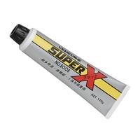 Adesivo Silicone Super X Cemedine 8008 - Preto - 170g - Made in Japan