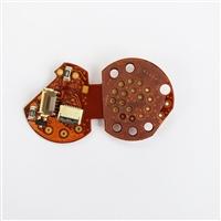 Circuito Flex (Flat Cable) 'Placa' do Conector para Aparelhos Olympus Série Q180 (Não-HD)